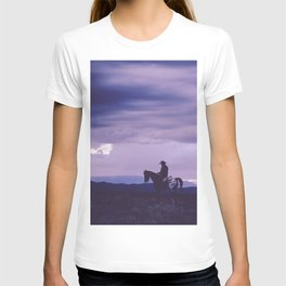 Southwestern Cowboy on Horse T-shirt