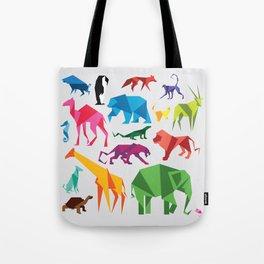 Paper Animals Tote Bag