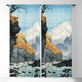 Foot of Mount Ashitaka (1932) by Hiroaki Takahashi. Blackout Curtain