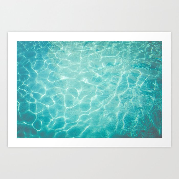 Palm Springs Summer Art Print