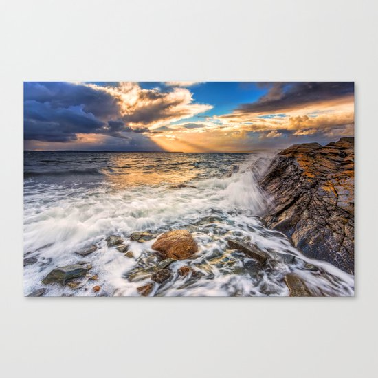 Sea Rock IV Canvas Print