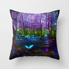 Return to Wonderland Throw Pillow