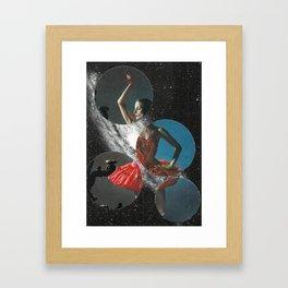 Skydancer Framed Art Print