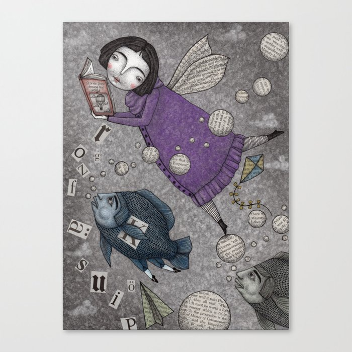 Stories in the Sky Canvas Print