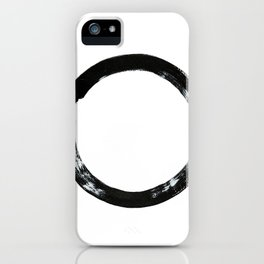 Zen Circle iPhone Case