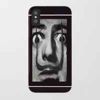 grand theft auto iPhone & iPod Cases featuring I am drugs ( Salvador Dali ) by Black Neon