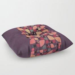 Vintage Butterflies Pattern Floor Pillow