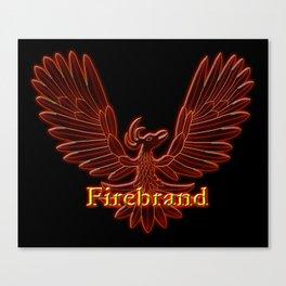 Ebaven Firebird Canvas Print