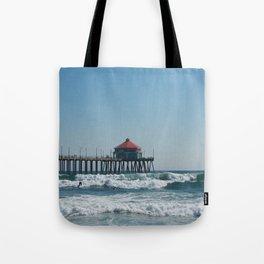 Huntington Beach Life Tote Bag