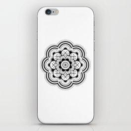 Camellia Mandala iPhone Skin