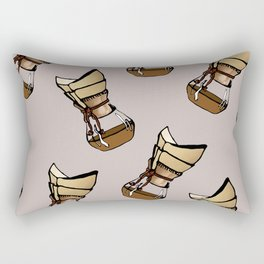 Coffee connoisseur Rectangular Pillow
