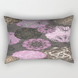 Garlic abstract Rectangular Pillow