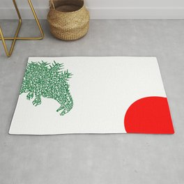 Japanese Monster Rug