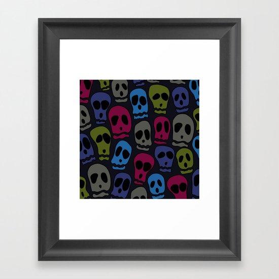 Skulls-3 Framed Art Print