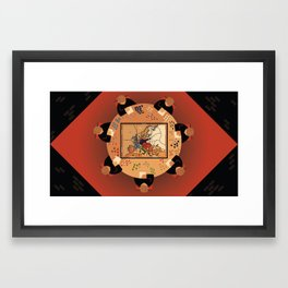 Diplomacy Framed Art Print