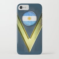 argentina iPhone & iPod Cases featuring Argentina by ilustrarte