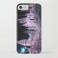 hogwarts iPhone & iPod Cases featuring Hogwarts by Anabella Nolasco