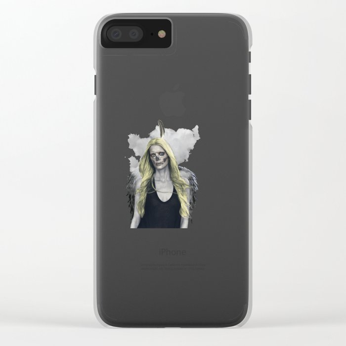 I never held emotion in the palm of my hand Clear iPhone Case