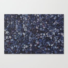 smooth pebbles Canvas Print