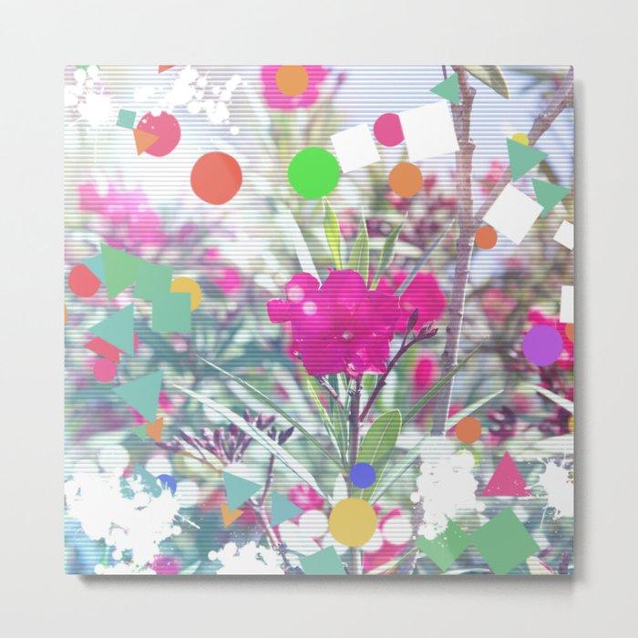 Flower design composition Metal Print