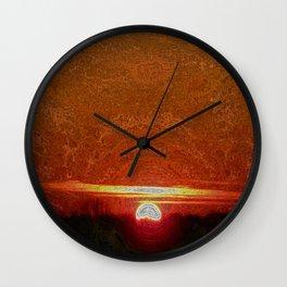 Sunset VIII Wall Clock