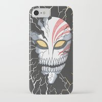 bleach iPhone & iPod Cases featuring Bleach Hollow Mask by MadameAce