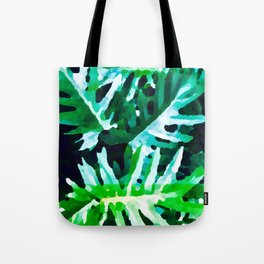 Leaves exotic Tote Bag