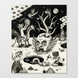 The Ways of the Wicked Canvas Print