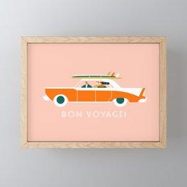 Bon voyage Framed Mini Art Print