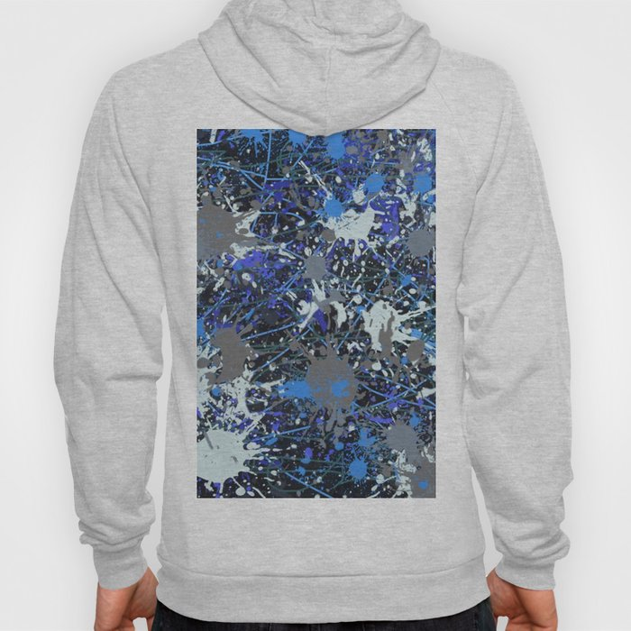 Action Painting No 42 By Chad Paschke Hoody