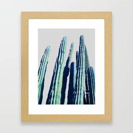 Cactus #society6 Decor #fashion #lifetsyle Framed Art Print