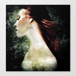 Of Dark Waters Canvas Print