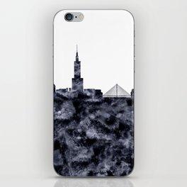 Warsaw Skyline Poland iPhone Skin