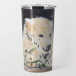 Polar Bear (night hunt) Travel Mug