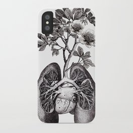 Flourishing Lungs iPhone Case