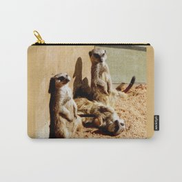 Meerkat Togetherness Carry-All Pouch