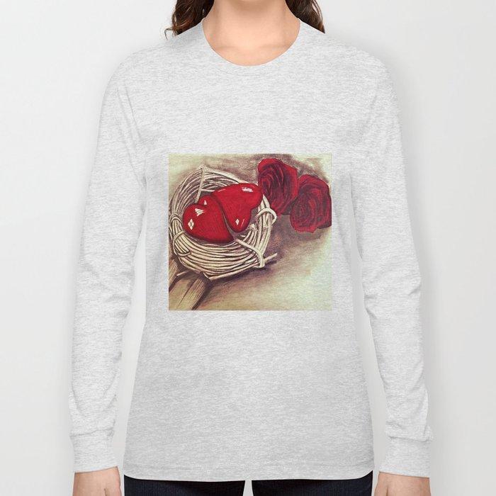 Heart of Rose Long Sleeve T-shirt