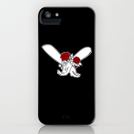 Hands twice-tied iPhone Case