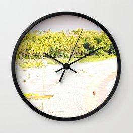 Mauna Kea Beach Wall Clock