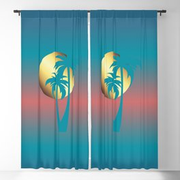 Summer Days Blackout Curtain
