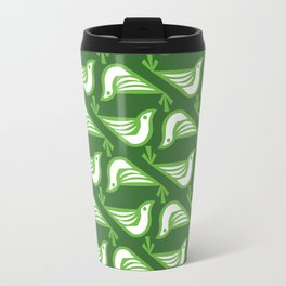 Danish Doves (Fir) Travel Mug