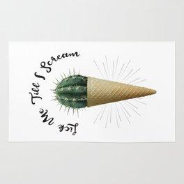 Ice Cream Cactus Lick Me Rug