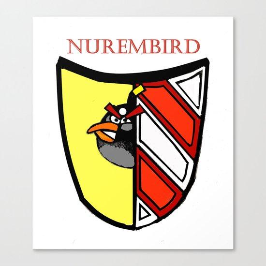 The Angry Nuernberg Nurembird Canvas Print