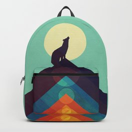Howling Wild Wolf Backpack