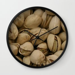 I'm a nutty kinda person Wall Clock