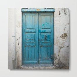 Wooden blue door in Rethymnon | Doors of the World | Crete, Greece, Europe | Color Photography | Travel Photography | Street Photography | Photo Print | Art Print Metal Print