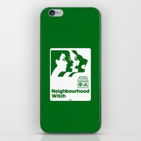 the neighbourhood iPhone & iPod Skins featuring Neighbourhood Witch by Crank Institute