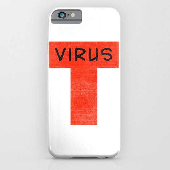 T virus iPhone & iPod Case