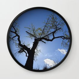 """Presence"". Wonderful trees Wall Clock"