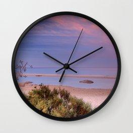 """""""Tarifa"""". Atlantic Ocean beach Wall Clock"""